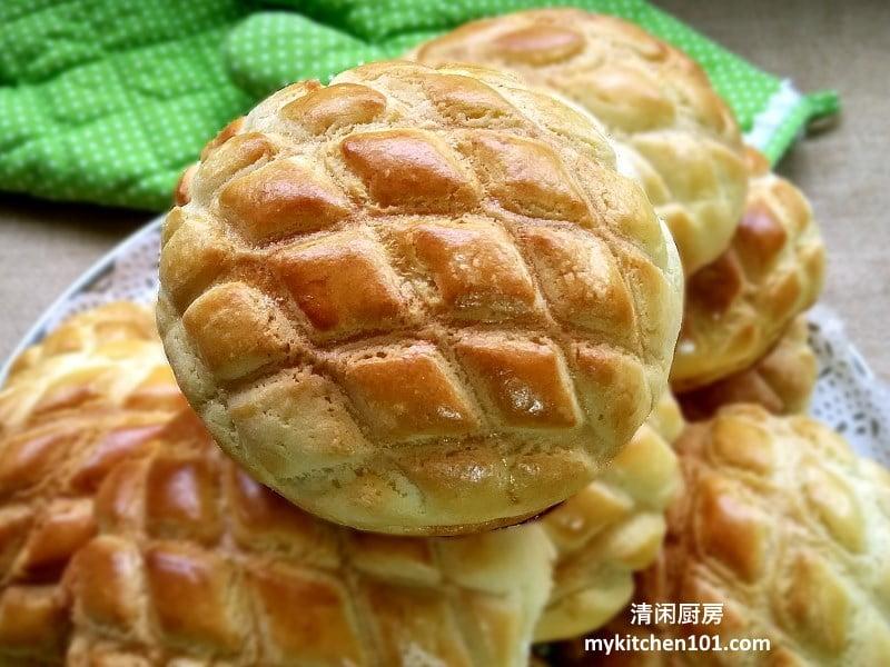 香脆菠萝包