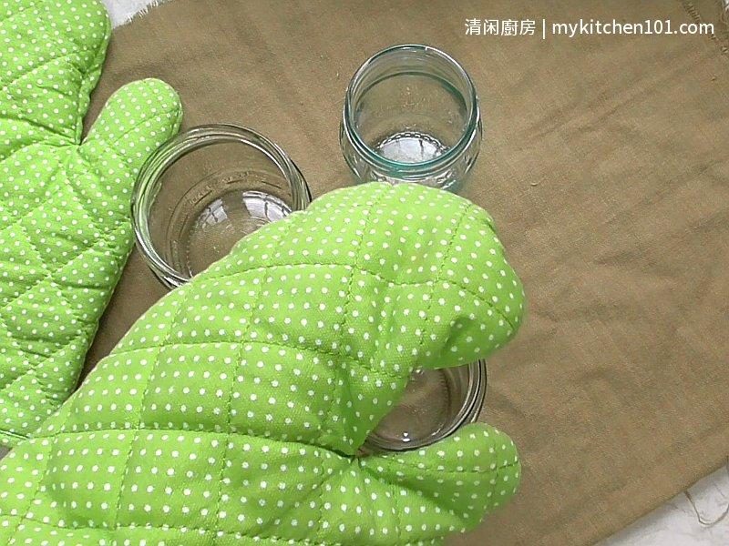 用微波炉消毒玻璃罐
