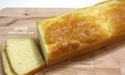 无麦麸米粉土司面包