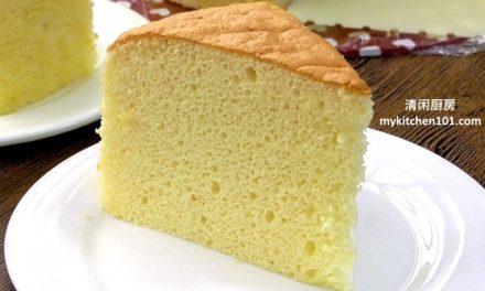 香草海绵蛋糕