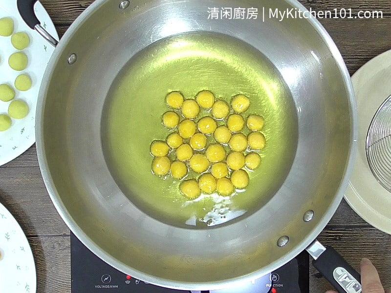 地瓜球(蕃薯蛋)