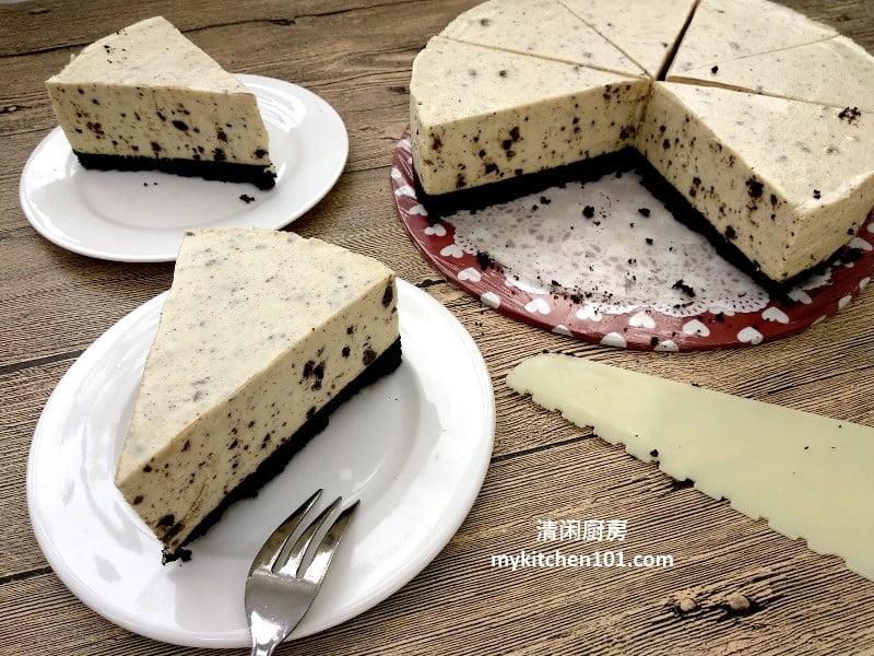 免烤Oreo芝士蛋糕
