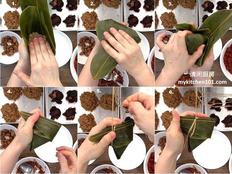 叁巴虾米咸肉粽