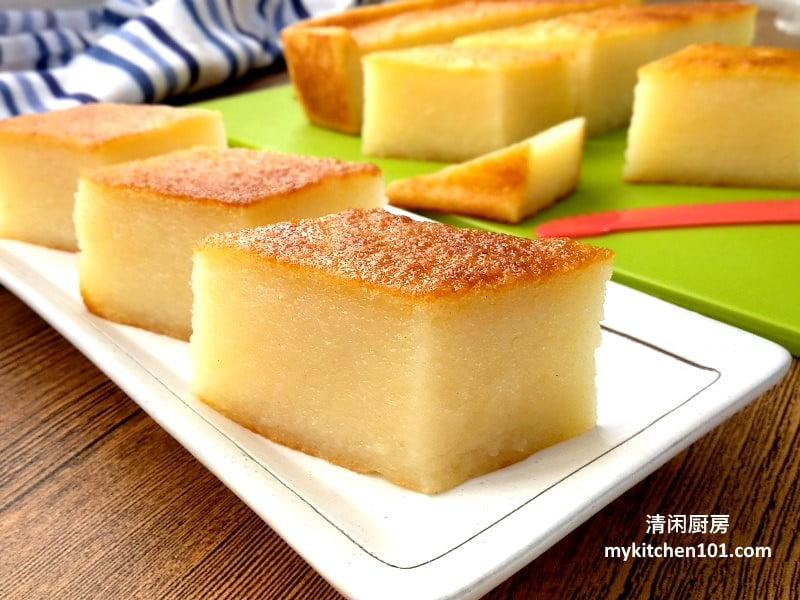 烤木薯糕无色素香精