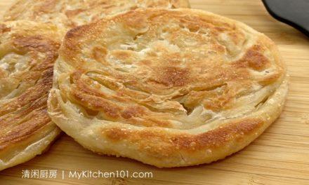 千层洛饼 (Roti Canai)-皮酥内嫩层层分明