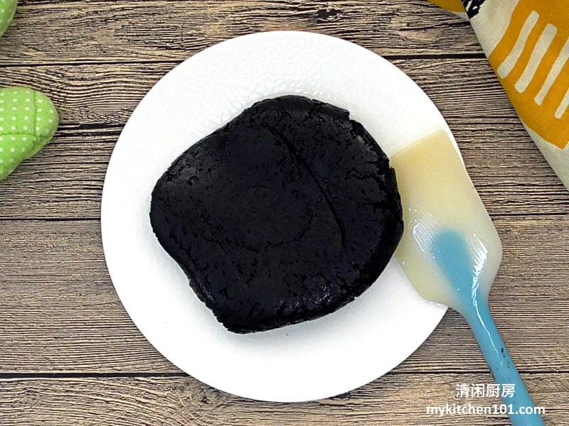 黑芝麻月饼馅做法