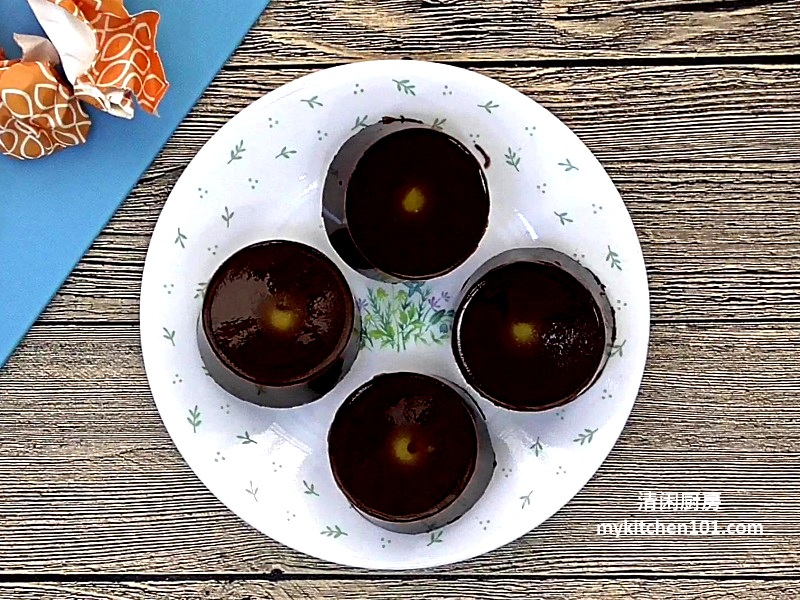 巧克力燕菜月饼