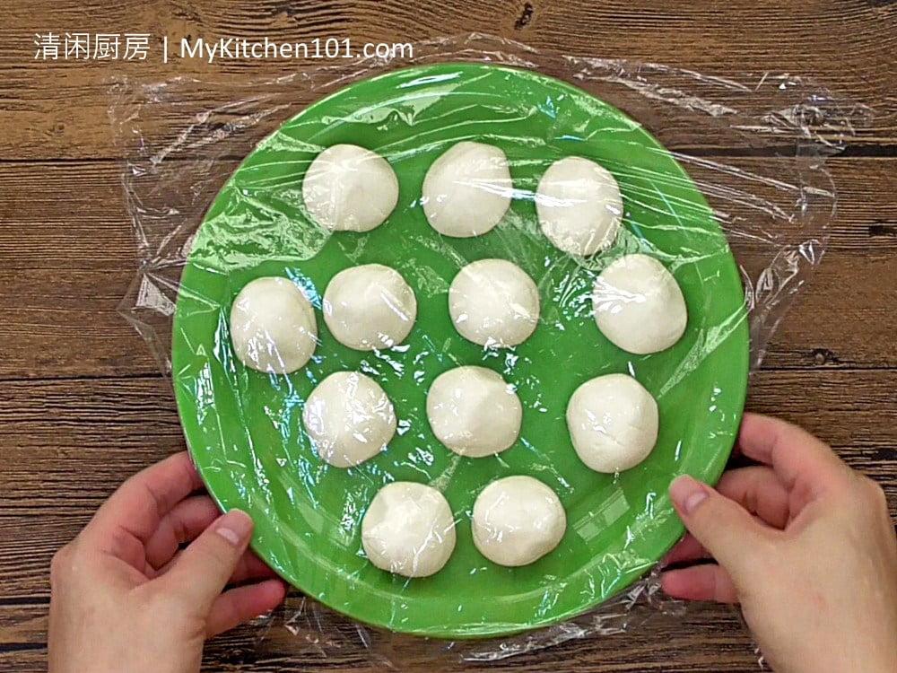 煎堆/芝麻球(花生馅)食谱