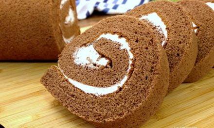 巧克力瑞士卷蛋糕