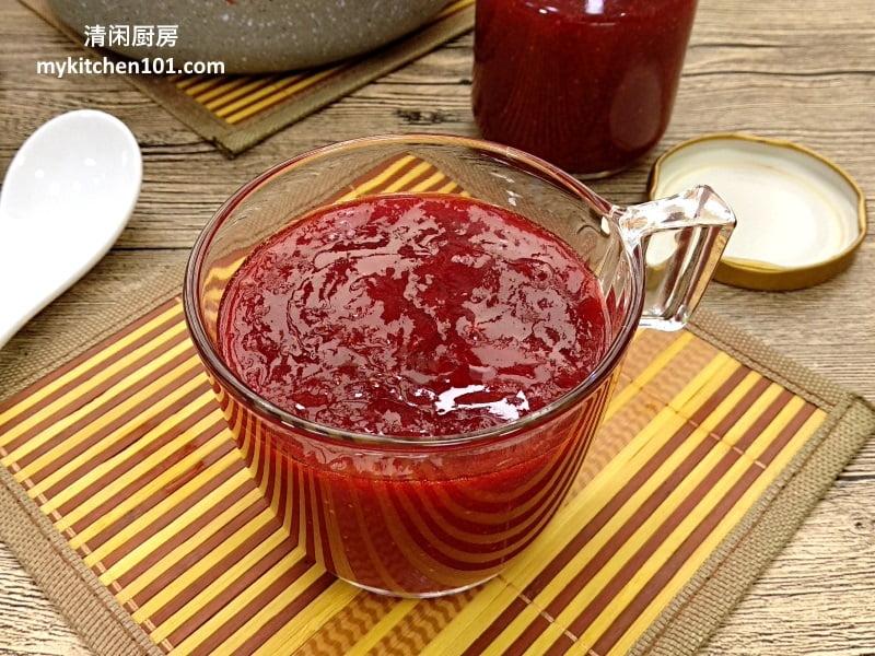 草莓果酱做法