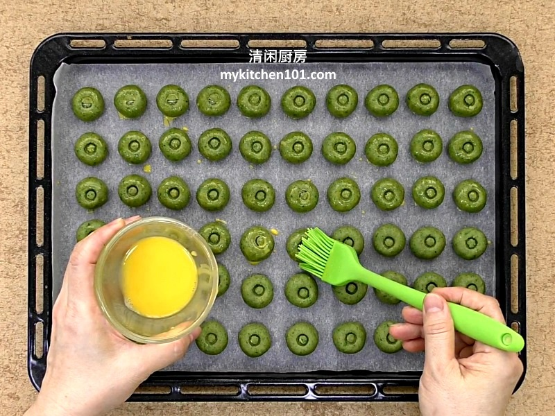 如何制作入口即化的青豆饼