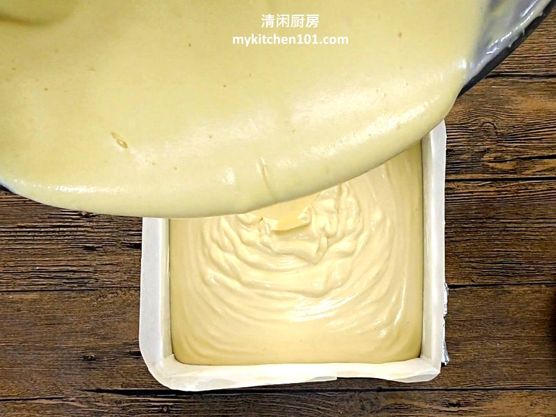 棉花海绵蛋糕不收缩做法