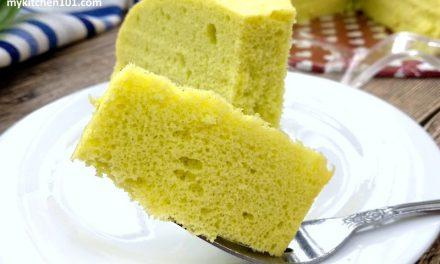 香兰蒸海绵蛋糕