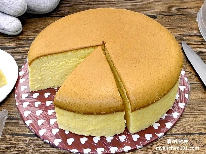 棉花芝士蛋糕切达芝士版