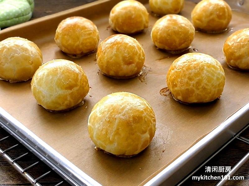 马来西亚咸豆沙饼