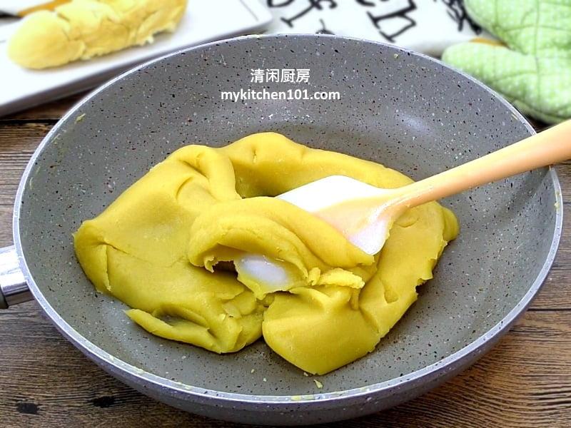 榴莲豆蓉月饼馅做法