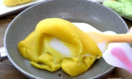 自制榴莲豆蓉月饼馅