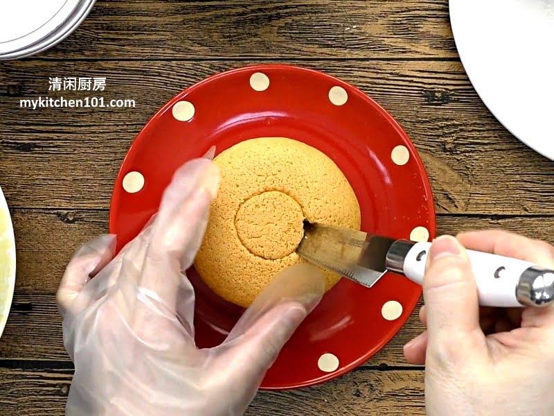 芝士奶盖柠檬海绵蛋糕