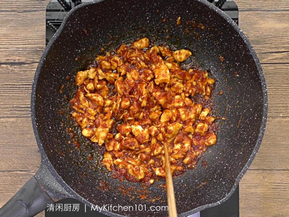 辣炒面食谱