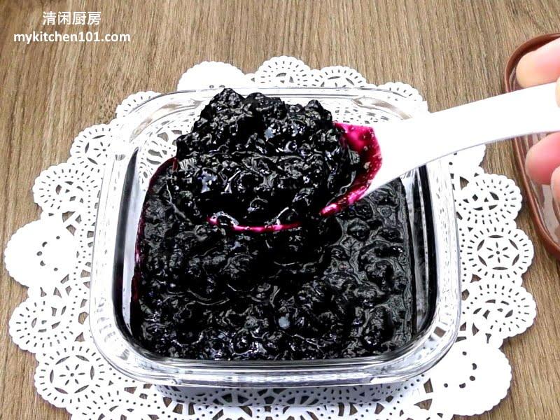 如何制作蓝莓果酱