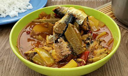 酸辣罐头茄汁沙丁鱼