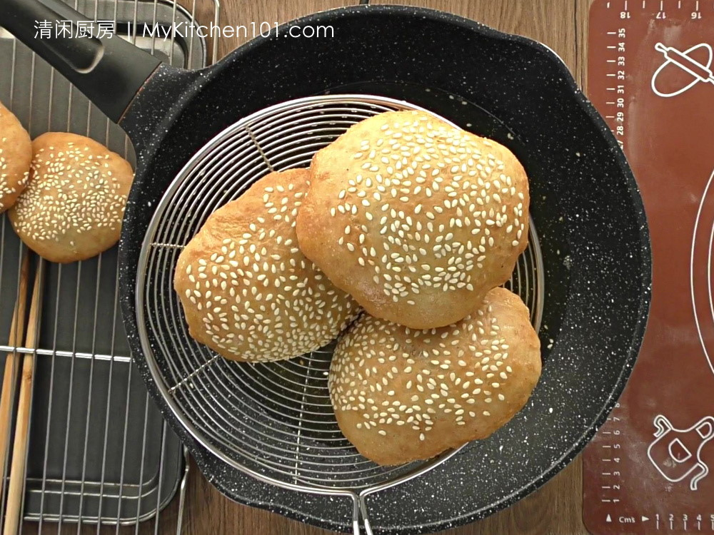 五香红豆咸煎饼