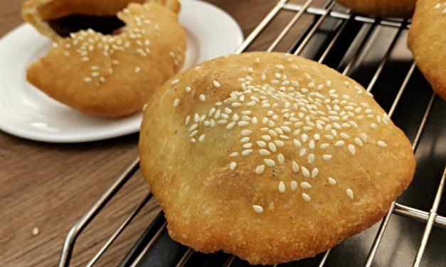 五香咸煎饼-红豆馅食谱