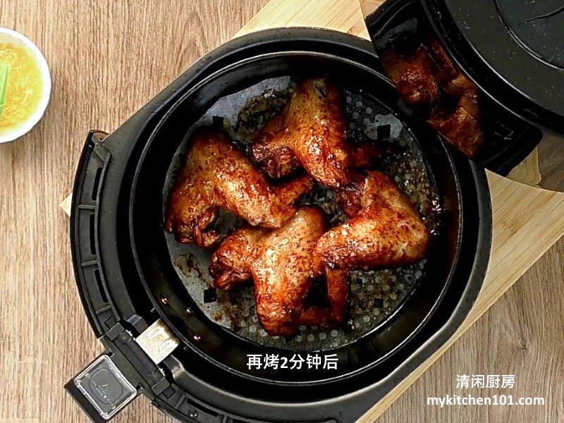 蜜汁烧鸡翼/鸡翅膀 (空气炸锅版)