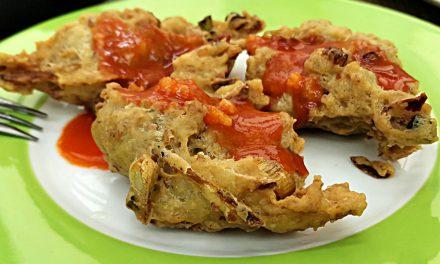 炸江鱼仔酥饼 – 外酥内软的简单小吃