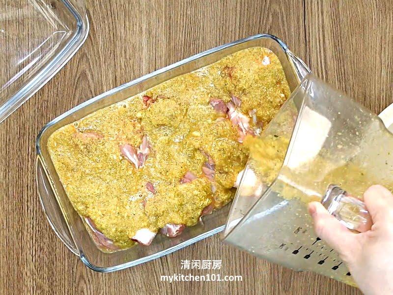 烤香茅鸡扒 (空气炸锅版)
