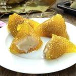 芋泥馅水晶(沙谷)碱水粽